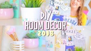 Easy DIY Tumblr Inspired Room Decor for 2018!! || Makeupgirl21