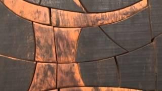 Spine Wood Sculpture By Tim Stead Art Gallery Perth Scotland