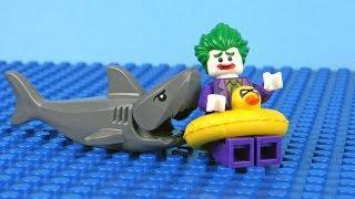 Lego Batman vs Spiderman vs Joker - Super Heroes Stop Motion Animation