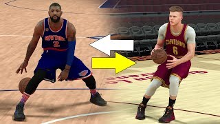 KYRIE IRVING GETTING TRADED TO KNICKS FOR PORZINGAS? NBA 2K17 GAMEPLAY!