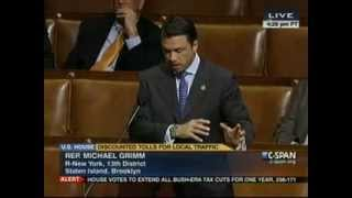 Rep. Grimm Floor Debate on Residential Toll Discount Act (HR 897)