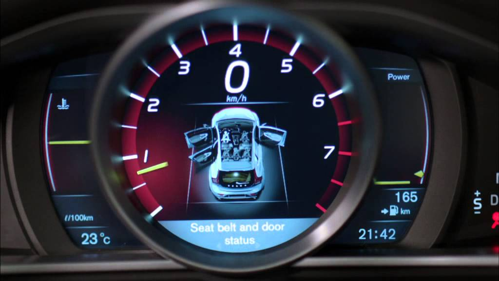 VOLVO V40 INTERIOR DESIGN INNOVATION YouTube