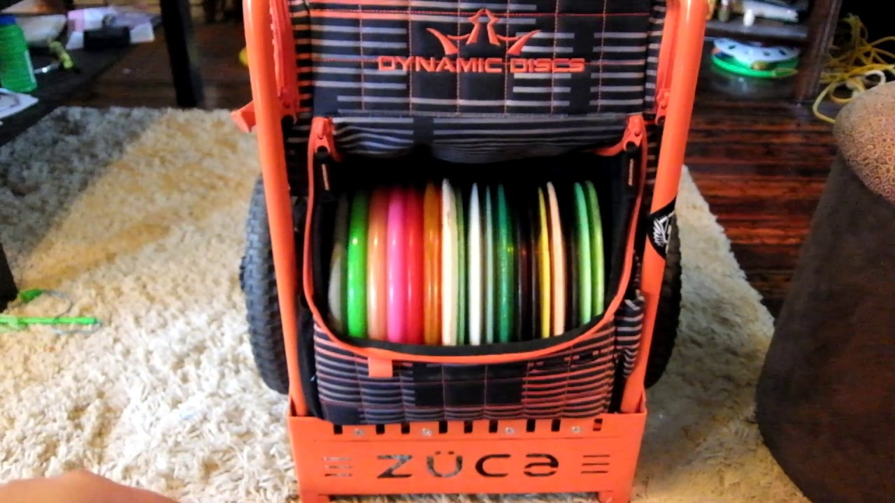 Zuca Disc Golf Backpack Cart Review And Custom Mods Youtube