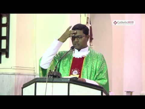 English Mass from St  Joseph's Cathedral, Gunfoundry, Hyd, Tg , INDIA 01-09-16.HD