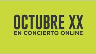 OCTUBRE XX - PRESENTAN CONCIERTO ONLINE #octubrexx #online #80s #entrevista