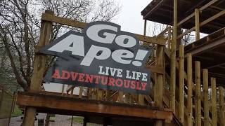 Download Video The British Life | Go Ape Alexandra Palace in the rain MP3 3GP MP4