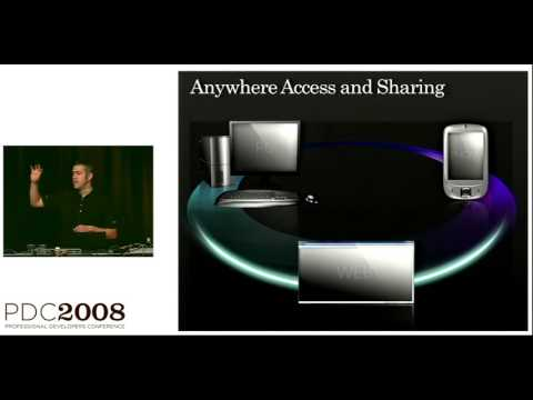 PDC 2008 Live Services FeedSync and Mesh Synchronization Services