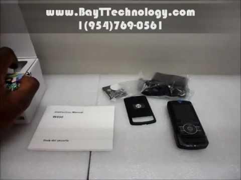 Unlocked Motorola Rizr Z3 Review - Unboxing