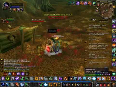 how to stop leveling in wow