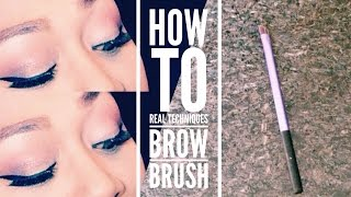 How I Use The Real Techniques Brow Brush Thumbnail