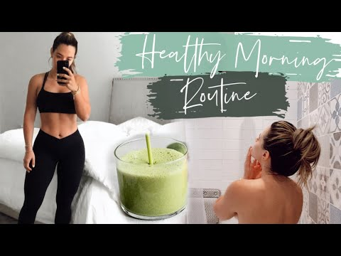 MY CURRENT HEALTHY AND FIT MORNING ROUTINE *REALISTIC*