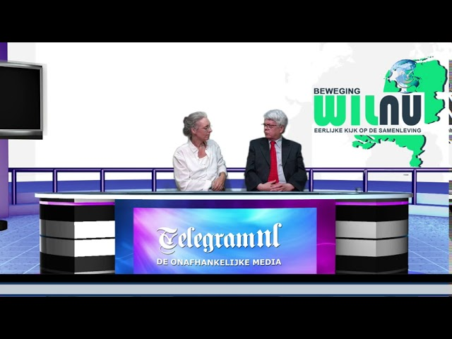 TelegramNL Nieuws Interview | Arjan Gelder Beweging WilNu