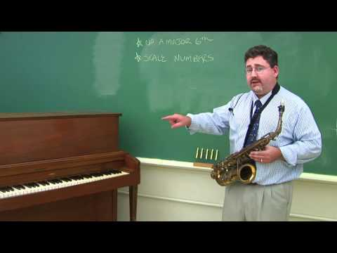 How to Transpose Notes for the Alto Saxophone