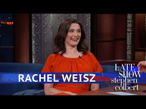 Rachel Weisz Makes Baby News On The Late Show