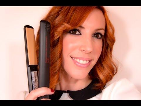 PEINADO: COMO ONDULAR O RIZAR EL PELO CON LA PLANCHA FÁCIL - Ghd Wavy Easy Hair Tutorial