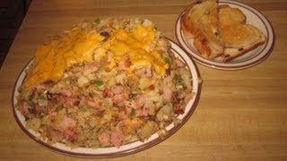 Marge's Breakfast Challenge 5.5lb Unk's Mess Scramble - Food Challenge