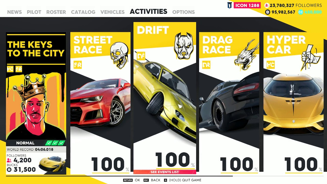 Image result for the crew 2 activities