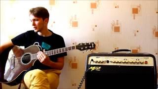 Применение открытых аккордов на гитаре