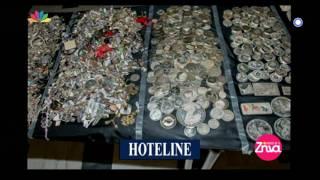 Entertv: 700 κιλά κλεμμένα χρυσαφικά και διαμάντια σε διαμερίσματα στο Χαλάνδρι Β'