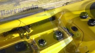 Kayak Fishing Mounts & Accessories For Barracuda Fish Pro Kayak