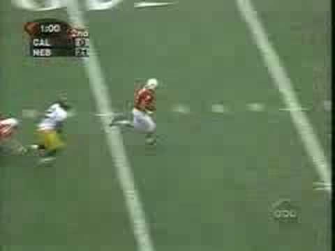 Eric Crouch TD catch against California (1999)