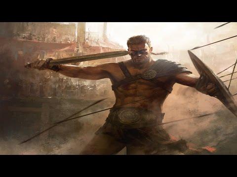 7 Gladiadores mais Fod�es de Roma Antiga