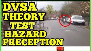 DRIVING THEORY TEST 2018  | HAZARD PRECEPTION TEST