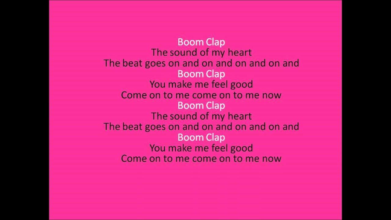 boom clap lyrics- Charlie xcx - YouTube