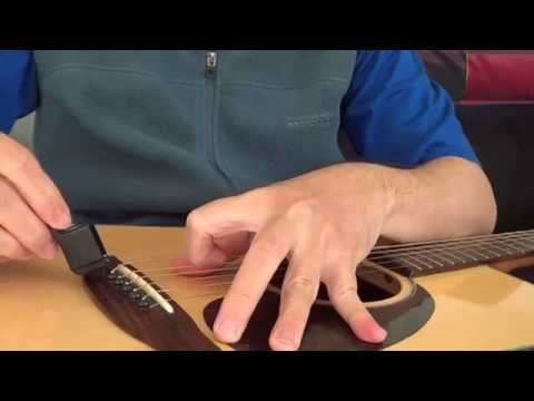 Dunlop Pegwinder Guitar String Winder Series 100 - Demo On How To Use