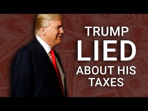 Liar Liar: Trump Predicts He Will Pay MORE TAXES Under New Tax Plan