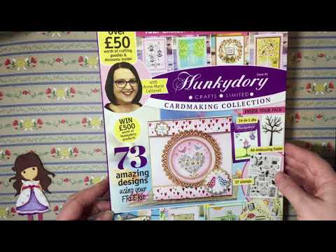 Card Making Magazine Haul      Simply Cards and Papercraft 176, Hunkydory, Craft Stamper