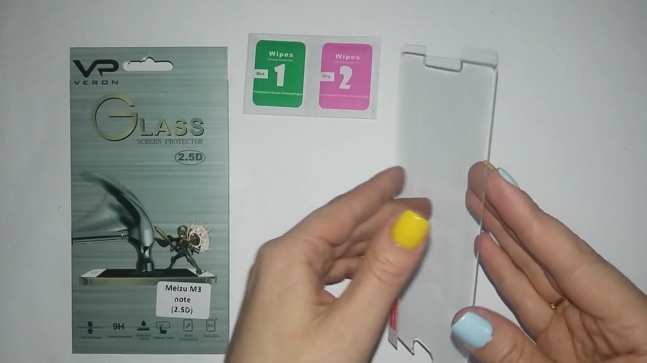 Защитное стекло Nillkin Amazing H(+pro) для Meizu M3 Note - YouTube