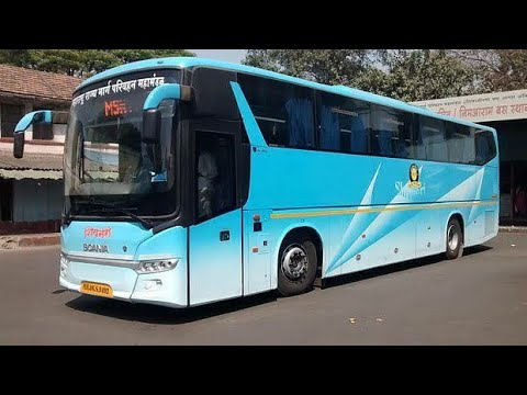 Pune - Mumbai Shivneri Bus Review | Msrtc's Best Product | Pune Mumbai Expressway |Scania India |