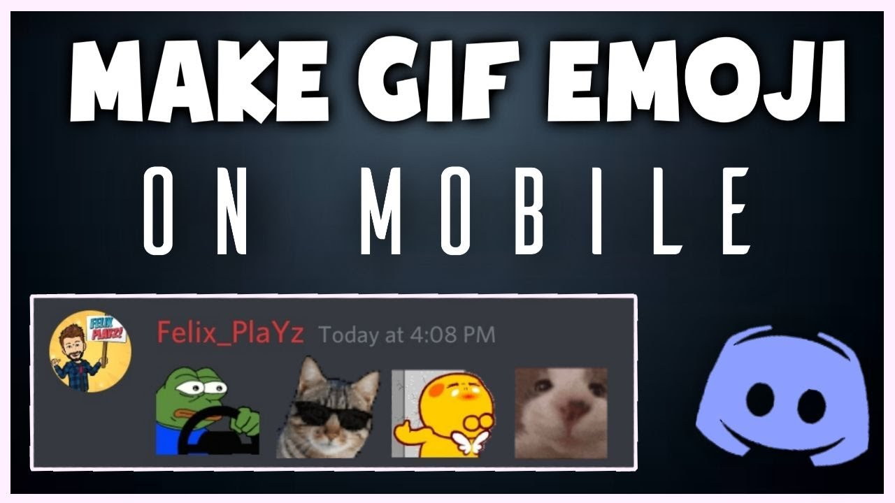 How to make Gif Emojis For Discord On Mobile - Gif Emojis For Discord