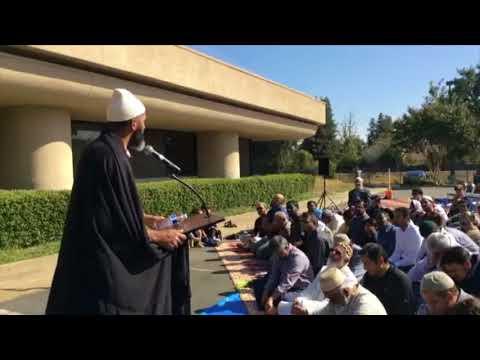 Rain Prayer Sermon & Supplication for the North Bay Fires | Imam Dawood Yasin