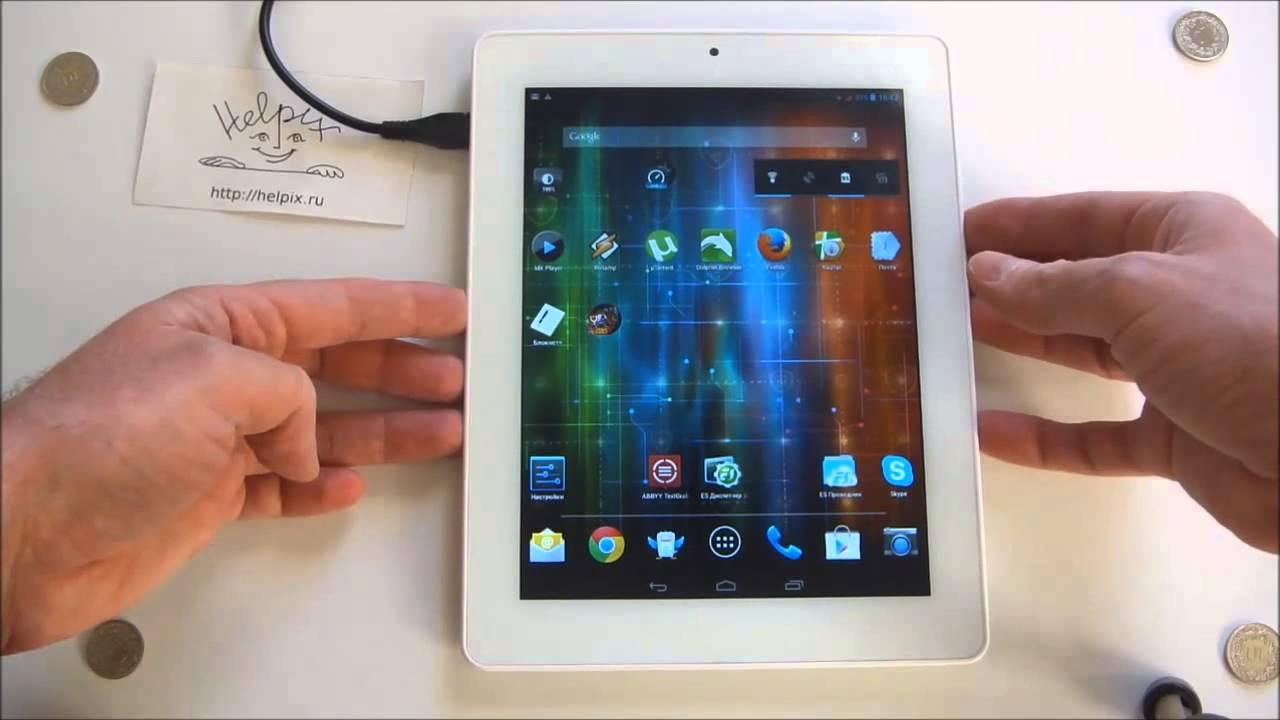 Prestigio Multipad 4 Diamond 785 3G Tablet Hands On - Deutsch .