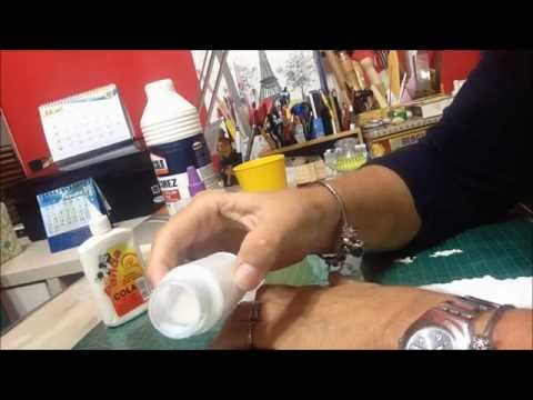 Cola para Decoupage, como fazer? - Vídeo (Decoupage Glue - How to?)
