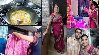 घर में ये सुकून बहुत दिन बाद था ~Indian Evening to dinner routine~patta gobhi ki sabzi