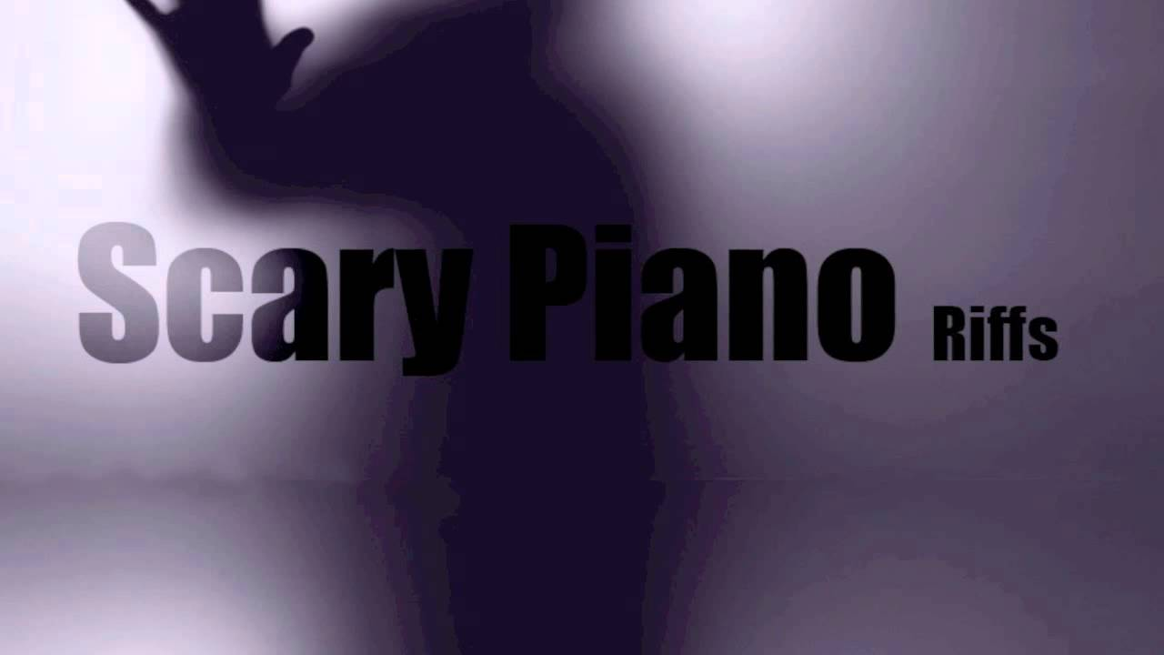 how to make scary sound on piano