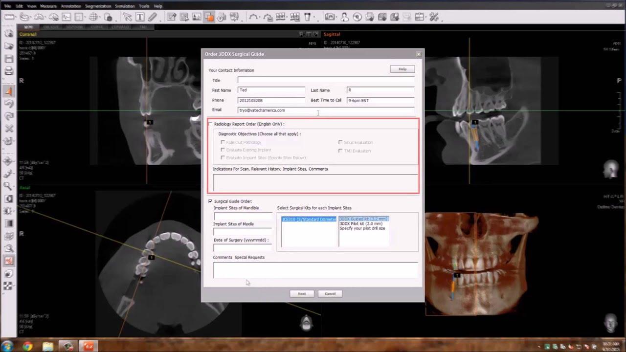 3D Diagnostix - 3DDX Vatech
