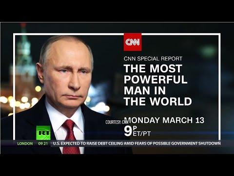 'Most powerful man in the world': CNN 'blockbuster' documentary on Putin