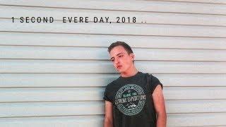 1 секунда в день /Мой 2018 год  One second every day 2018