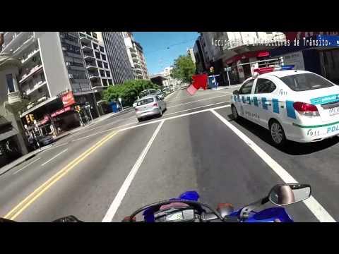 Yamaha XTZ250 Lander - Accidentes e Infracciones (Uruguay)