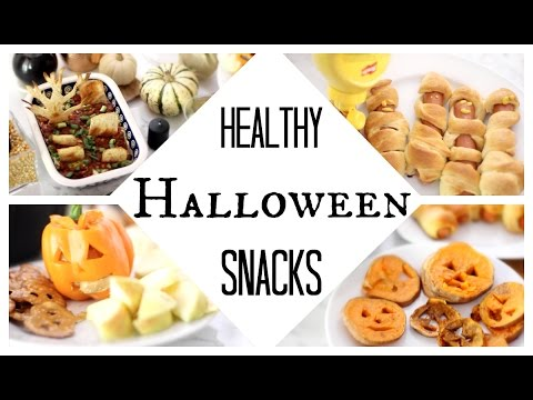 DIY Healthy Halloween Party Snacks | Quick + Easy!