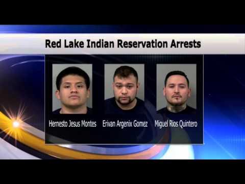 Red Lake Indian Reservation Drug Arrests - Lakeland News at Ten - March 9, 2016