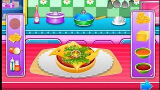 Cooking Games for kids: Coking pizza, Burger,juce العاب بنات العاب طبخ بيتزا وبرجر وعصيرتحفه