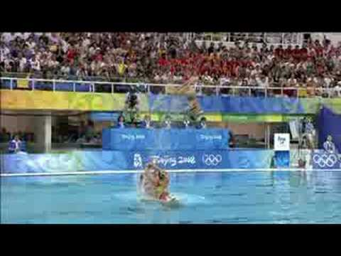 SWIMMING SYNCHRONISED SWIMMING TEAM  - FREE ROUTINE