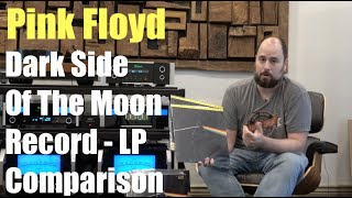 Pink Floyd - Dark Side Of The Moon - LP Review And Comparison What Version Is The Best