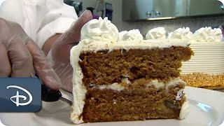 Bake Me A Cake - Plaza Inn Carrot Cake | Disneyland Resort