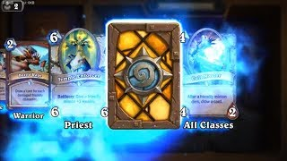 Injured Blademaster - Classic Hearthstone rare card pack opening